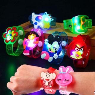 Đồng hồ đeo tay kèm nhẫn trẻ em có đèn LED phát sáng - An toàn với trẻ nhỏ thumbnail