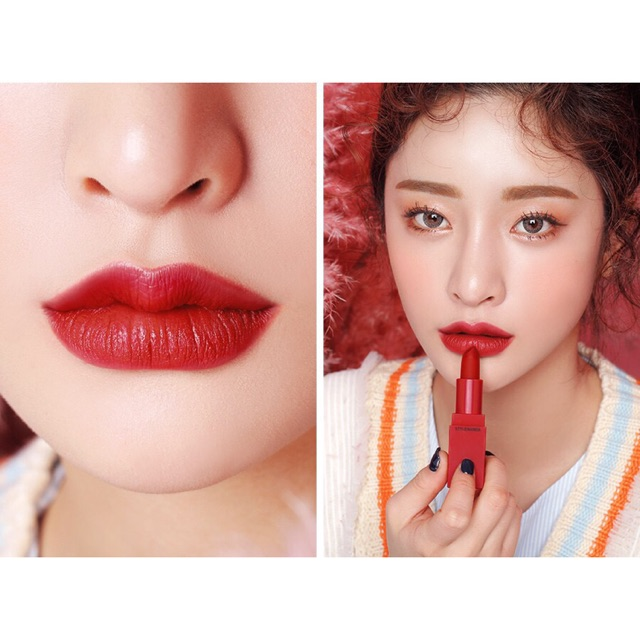 Son 3CE Red Recipe Lip Color chính hãng