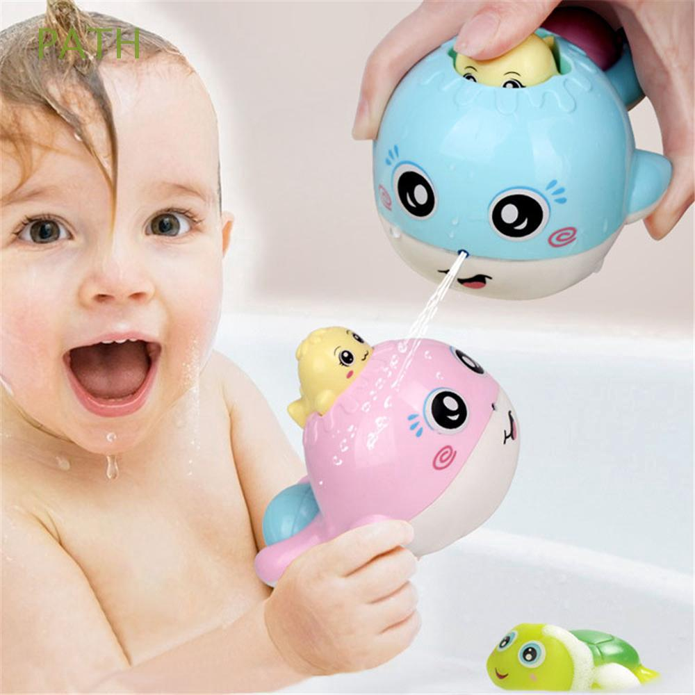 Bathroom Plastic Newborn Waterwheel Scoop Squirt Baby Bath Toy