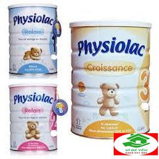 [GIÁ SỐC] Sữa bột Physiolac số 1,2,3 loại 900g Date 2021