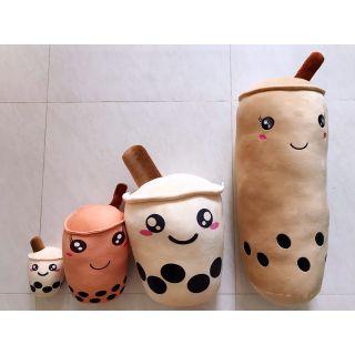 [Mã NOWSHIPVUI2 giảm 25k đơn 50k] Gối bông trà sữa dễ thương 4 size