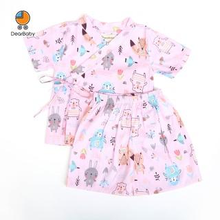 Set Pijama Yukata Hồng Họa Tiết Cho Bé DearBaby PY-01 thumbnail
