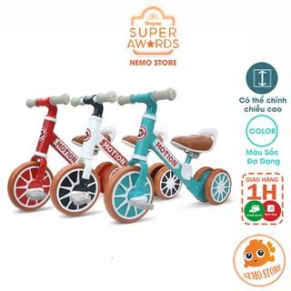 Xe chòi chân cho bé 1 3 tuổi tập đi - xe đạp trẻ em 3 bánh thăng bằng MOTION XC0207 thumbnail