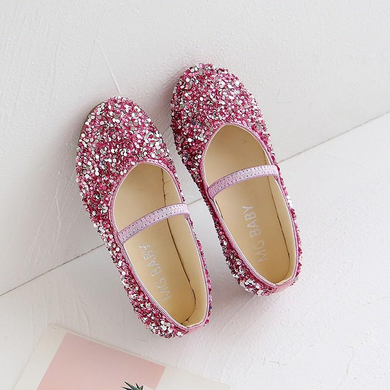 giày bé gái giày búp bê cho bé gái công chúa lấp lánh cho bé gái dễ thương 952 5.0