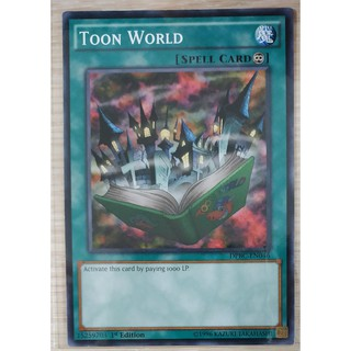 [Thẻ Yugioh] Toon World
