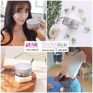 GEL TAN MỠ SAUNA BELLY HOT GENIE