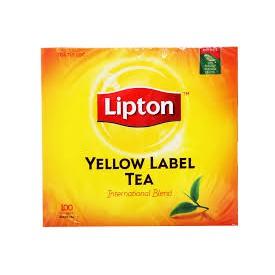 1 hộp Trà Lipton 100 gói indo