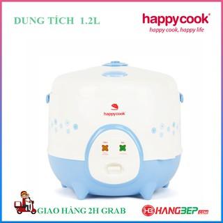 Nồi cơm điện nắp gài Happycook 1.2 lít HC-120 - Xanh - Bảo hành chính hãng 12 tháng
