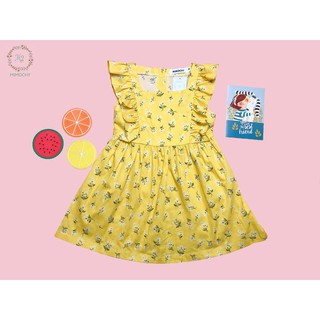 Váy hoa nhí tay bèo cho bé gái M2 MIMOCHY A005