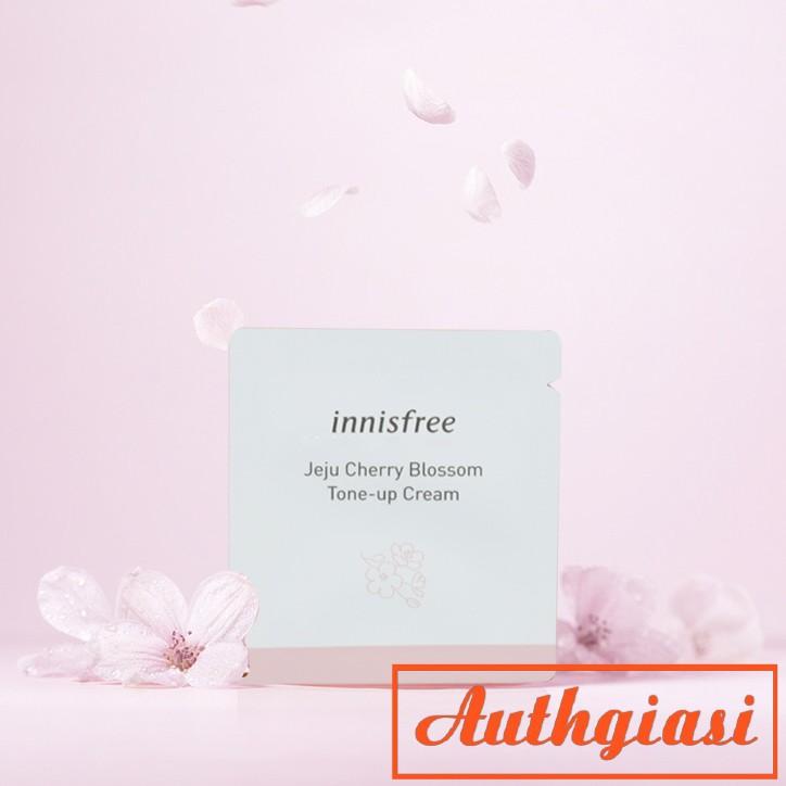 Sample Gói dùng thử INNISFREE Innisfree Jeju Cherry Blossom Tone Up Cream [ Gói 1ml ]