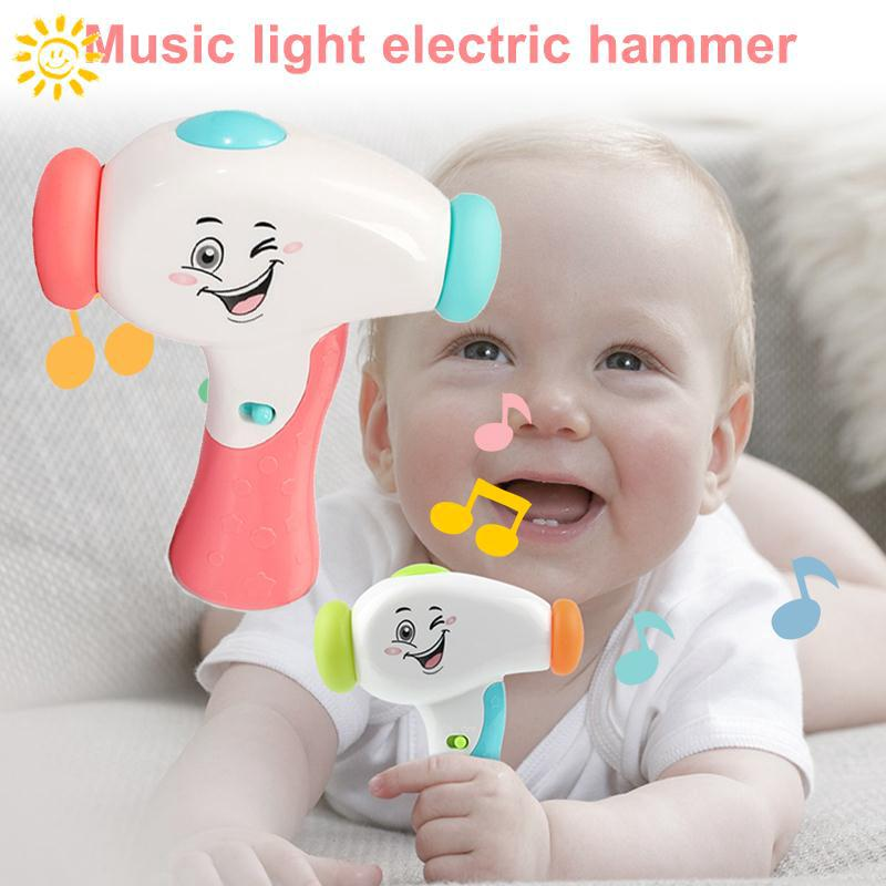 Story Machine Hammer Music Toy Intelligent Learning Machine Multi-Functional Cool Hobby Study Sing Song Electric