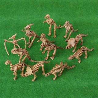 Set 12 đồ chơi mô hình xương khủng long mới giáo dục tiện lợi