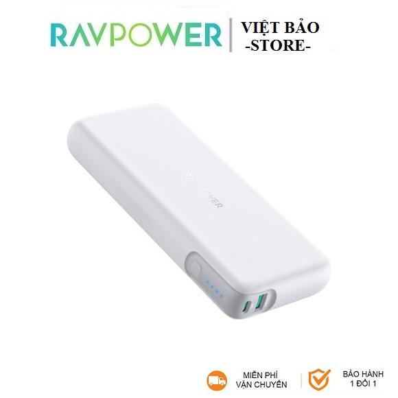 Pin Sạc dự phòng RAVPower 20000mAh 60w PD3.0 RP-CPBN004