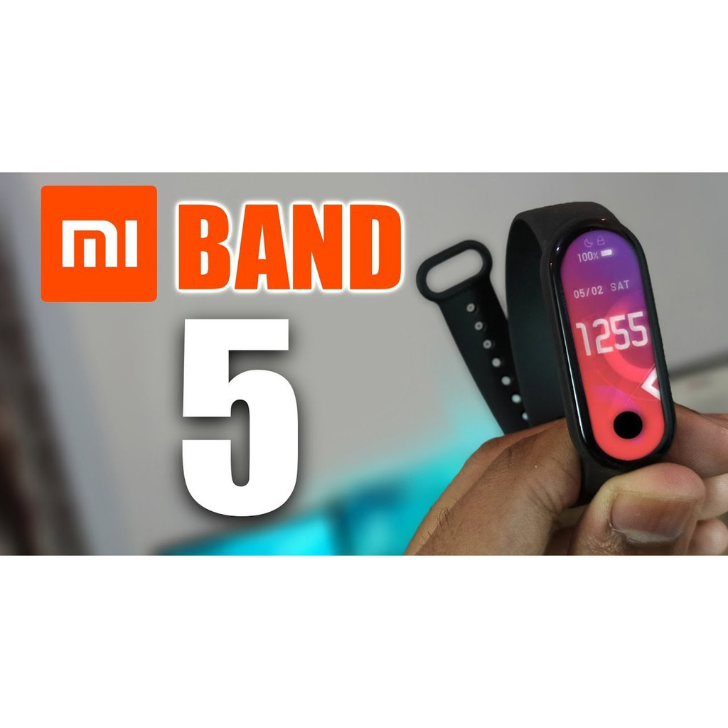 [Chính hãng] Vòng tay thông minh  theo dõi sức khoẻ Xiaomi Mi Band 5 / Đồng hồ thông minh Miband 5 [ Bảo hành 6 tháng ]