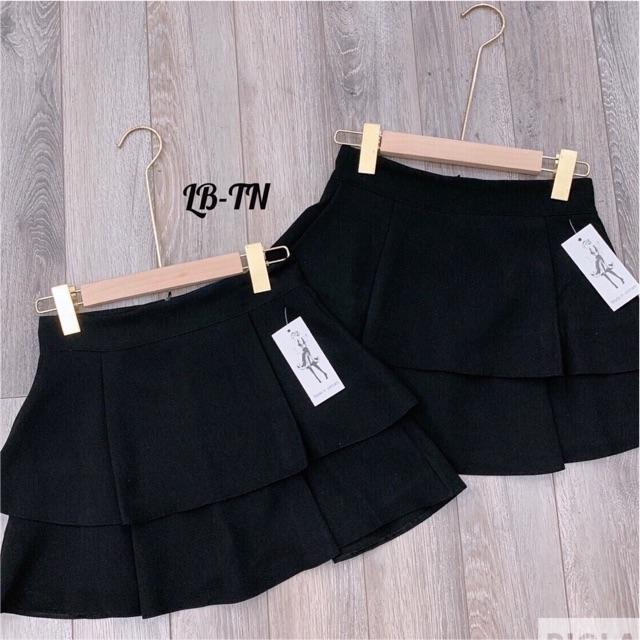 Chân váy 2 tầng bigsize 55-90kg( có lót quần )