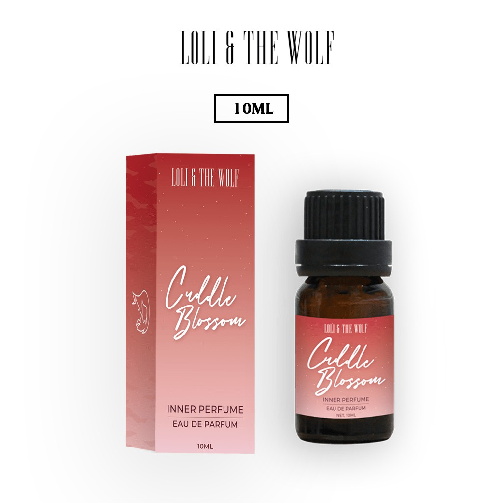 Nước hoa vùng kín dành cho nữ Cuddle Blossom Eau De Parfum chai 10ml - LOLI & THE WOLF