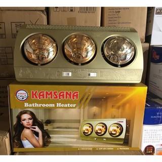 Đèn sưởi nhà tắm 3 bóng Kamsana - Hàng loại tốt, đèn sưởi bền