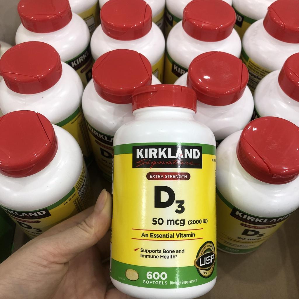 Vitamin D3 50mcg 600v Kirkland