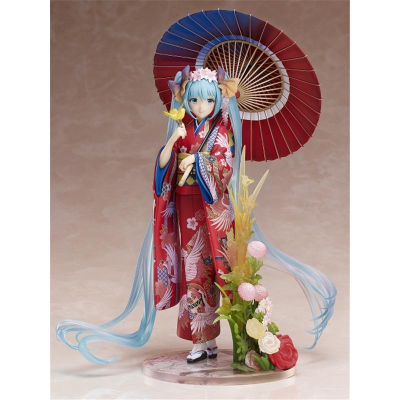 Mô Hình Nhân Vật Hatsune Miku Mặc Kimono Xinh Xắn