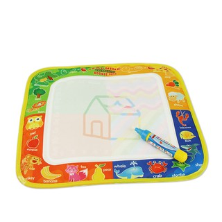 29x30cm Kids Water Drawing Mat & Magic Pen Non-toxic Painting Doodle Baby Gifts