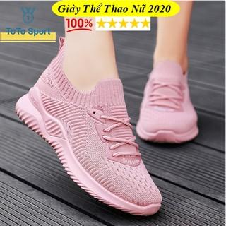 Giày thể thao nữ mẫu mới 2021 - giày tập gym chạy bộ đi chơi đi học thoáng chân đơn giản cá tính đế êm G996 thumbnail