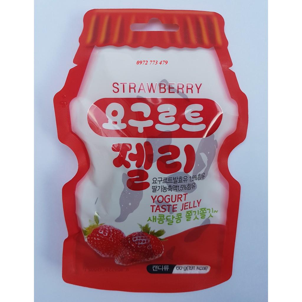 Thạch Yogurt jelly Vị Dâu Hàn Quốc - 2798613 , 742887677 , 322_742887677 , 40000 , Thach-Yogurt-jelly-Vi-Dau-Han-Quoc-322_742887677 , shopee.vn , Thạch Yogurt jelly Vị Dâu Hàn Quốc