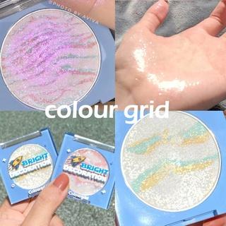 Face Highlighter Bronzer Palette Shimmer Glitter Makeup Blush Cheek Blusher Contour Palette Face Blusher Highlight Cosmetic