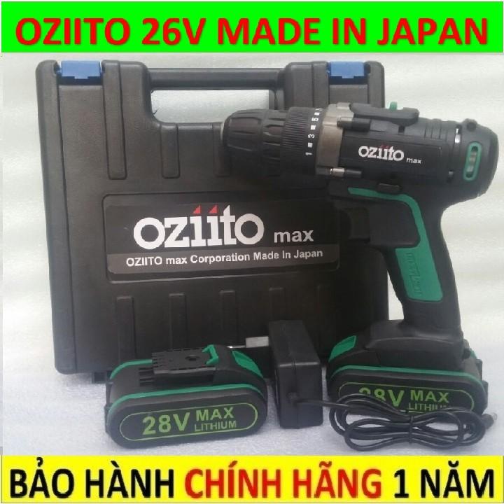 Máy khoan pin Ozito không búa, máy bắt vít cầm tay