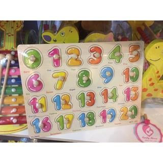 Bộ đồ chơi số học cho bé từ 2 đến 4 tuổi phát triển trí tuệ