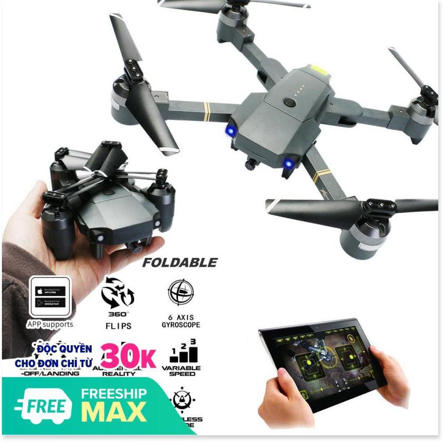 Flycam Giá Rẻ - Máy Bay Điều Khiển Từ Xa Cỡ Lớn - Xt-1 Kết Nối Wifi 2.4 Ghz  Quay Phim Chụp Ảnh Full Hd 720P.Lỗi 1 Đổi 1,