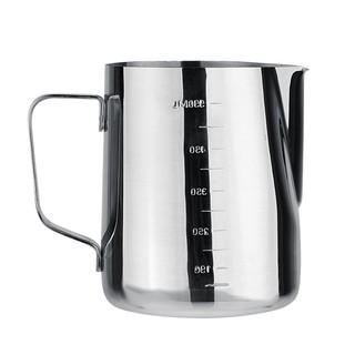 Cốc đánh sữa cà phê Espresso 1000ml chất liệu thép không gỉ - hình 2