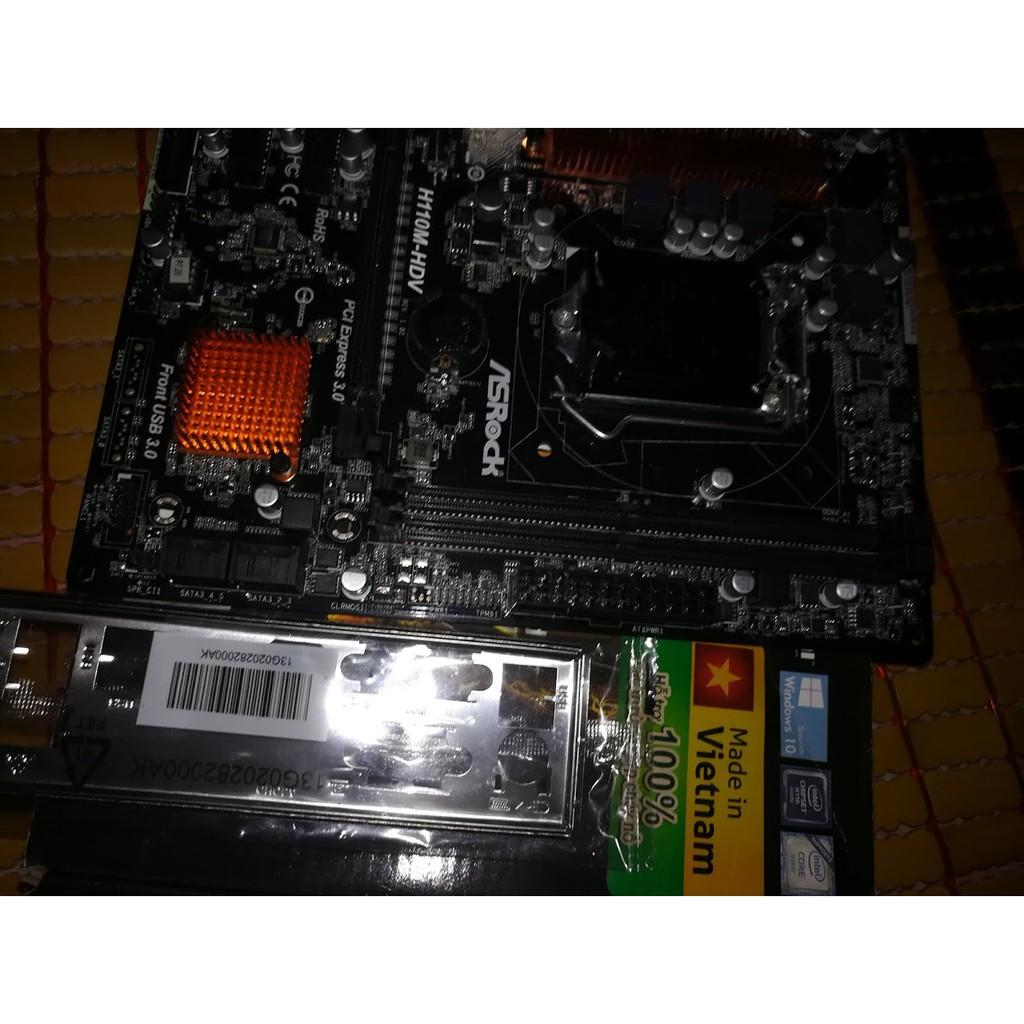 combo main máy tinh cpu h110 , b75 , g4560 ,i5 3470