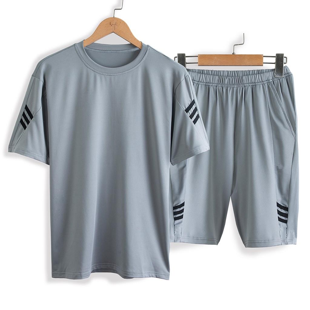 Mặc gì đẹp: Bộ thể thao nam ROUGH CoolFit chất thun co Giãn, năng động mùa Hè, 4 màu trẻ trung