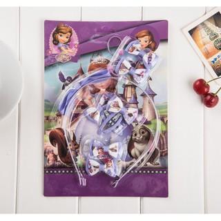 Đồ chơi trẻ em đồ chơi thông minh Bộ bờm kẹp tóc công chúa sp2669