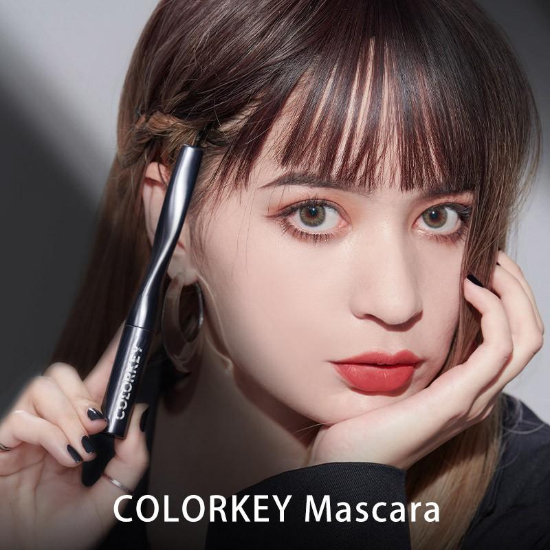[Mã FMCGM50 - 8% đơn 250K] COLORKEY (Hàng Mới Về) Mascara Chuốt Mi Cong Không Thấm Nước Trang Điểm Chuyên Nghiệp