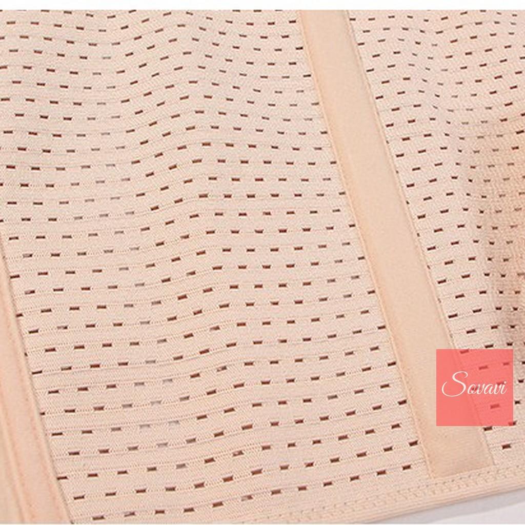 Gen đai nịt bụng 2 lớp Beauty thoáng khí  (bản lớn)- Định hình eo thon gọn Dai007