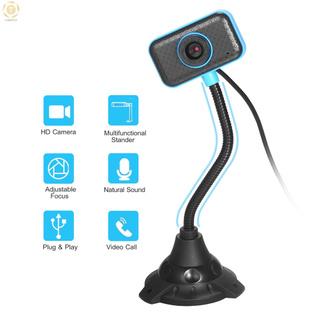 Webcam Usb Mini 12 Tiếng Ồn Tích Hợp Mic Linh Hoạt Cho Máy Tính Để Bàn / Laptop