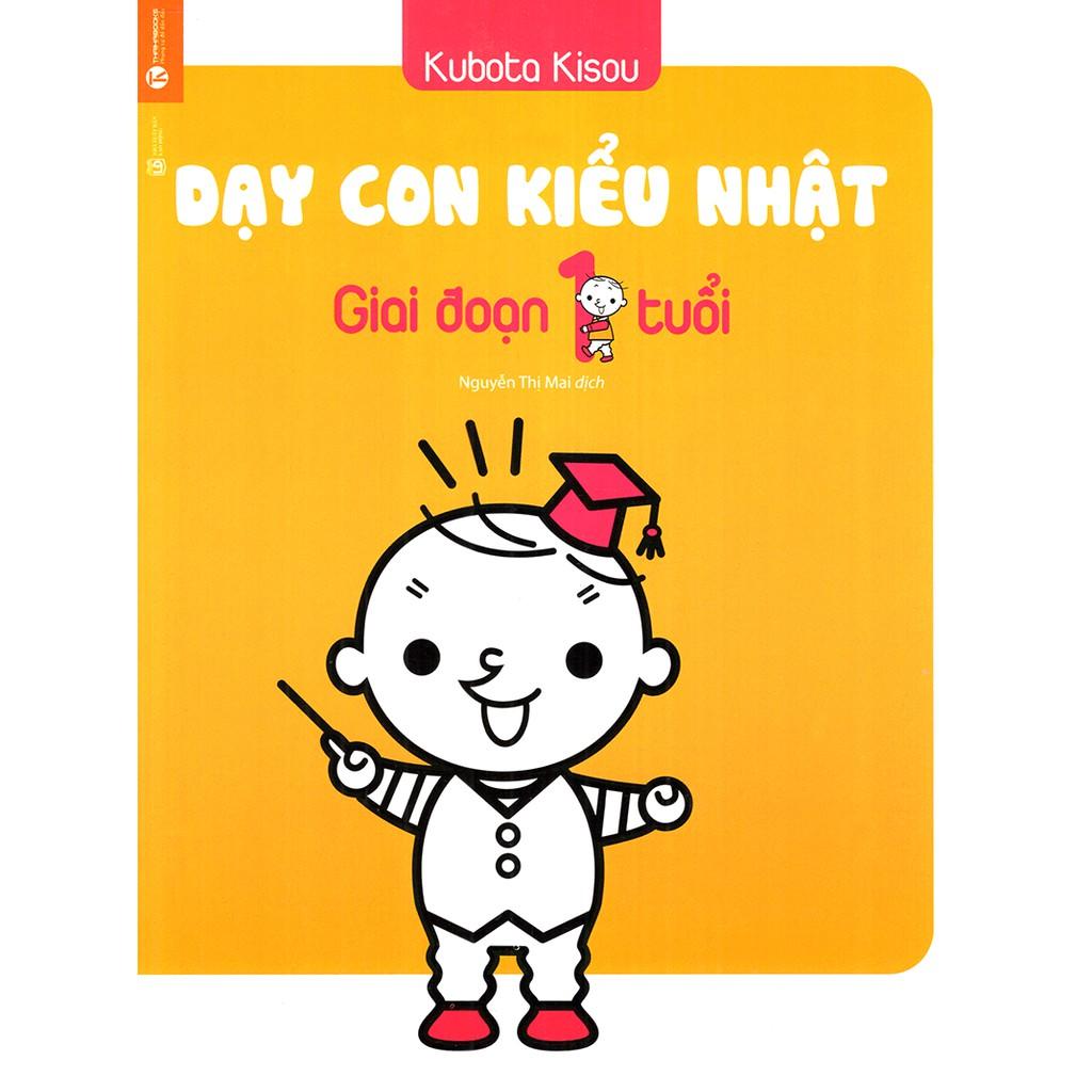 [HÀ NỘI] - Sách - Dạy Con Kiểu Nhật - Giai Đoạn Trẻ 1 Tuổi (Tái Bản)