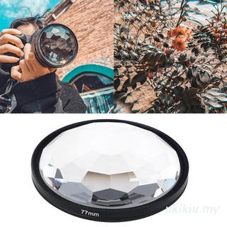 UKI  77mm Kaleidoscope Prism Brand New and High Quality Camera Glass Filter Variable Number Of Shooting Objects