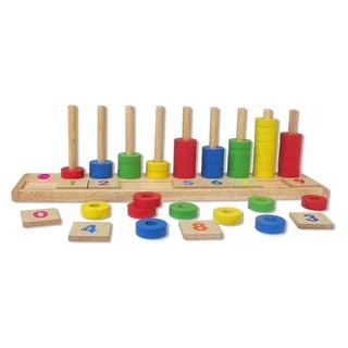 [SIÊU KM] Học đếm bậc thang bằng gỗ winwintoys [LOẠI 1]