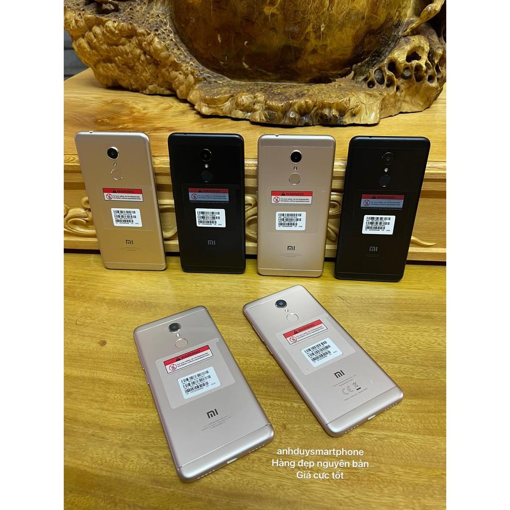 Điện thoại xiaomi Redmi5 32GB Ram 3GB /16GB Ram 2GB