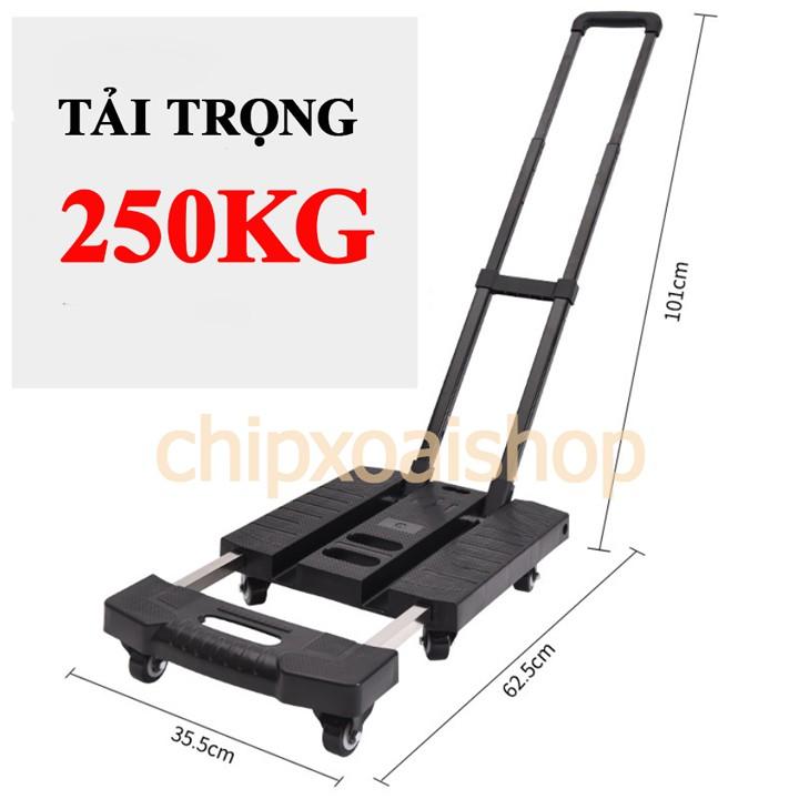 Xe Đẩy Hàng Gấp Gọn SIÊU NHẸ Tải Trọng 180kg