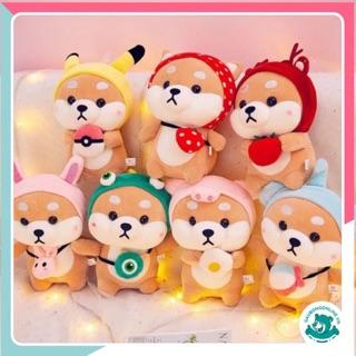 Chó bông Shiba Cosplay siêu cute 40 cm thumbnail