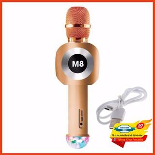 [ Siêu rẻ ] Micro Karaoke Bluetooth M8