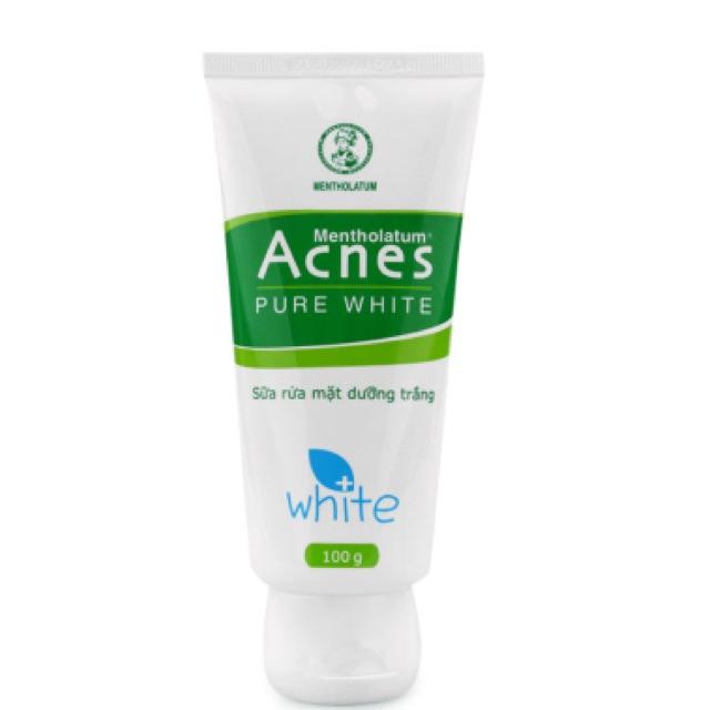 Sữa rửa mặt dưỡng trắng Acnes Pure White 100g - 2538563 , 378188287 , 322_378188287 , 75000 , Sua-rua-mat-duong-trang-Acnes-Pure-White-100g-322_378188287 , shopee.vn , Sữa rửa mặt dưỡng trắng Acnes Pure White 100g