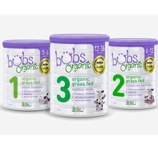 Sữa bò Bubs Organic Úc 800g số 1,2,3 thumbnail