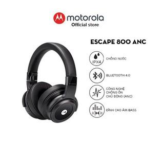 Tai nghe trùm đầu bluetooth không dây chống ồn chủ động ANC - Motorola - Pulse Escape 800ANC