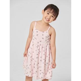 Váy liền mặc nhà bé gái hello kitty 1LD20S002 Canifa