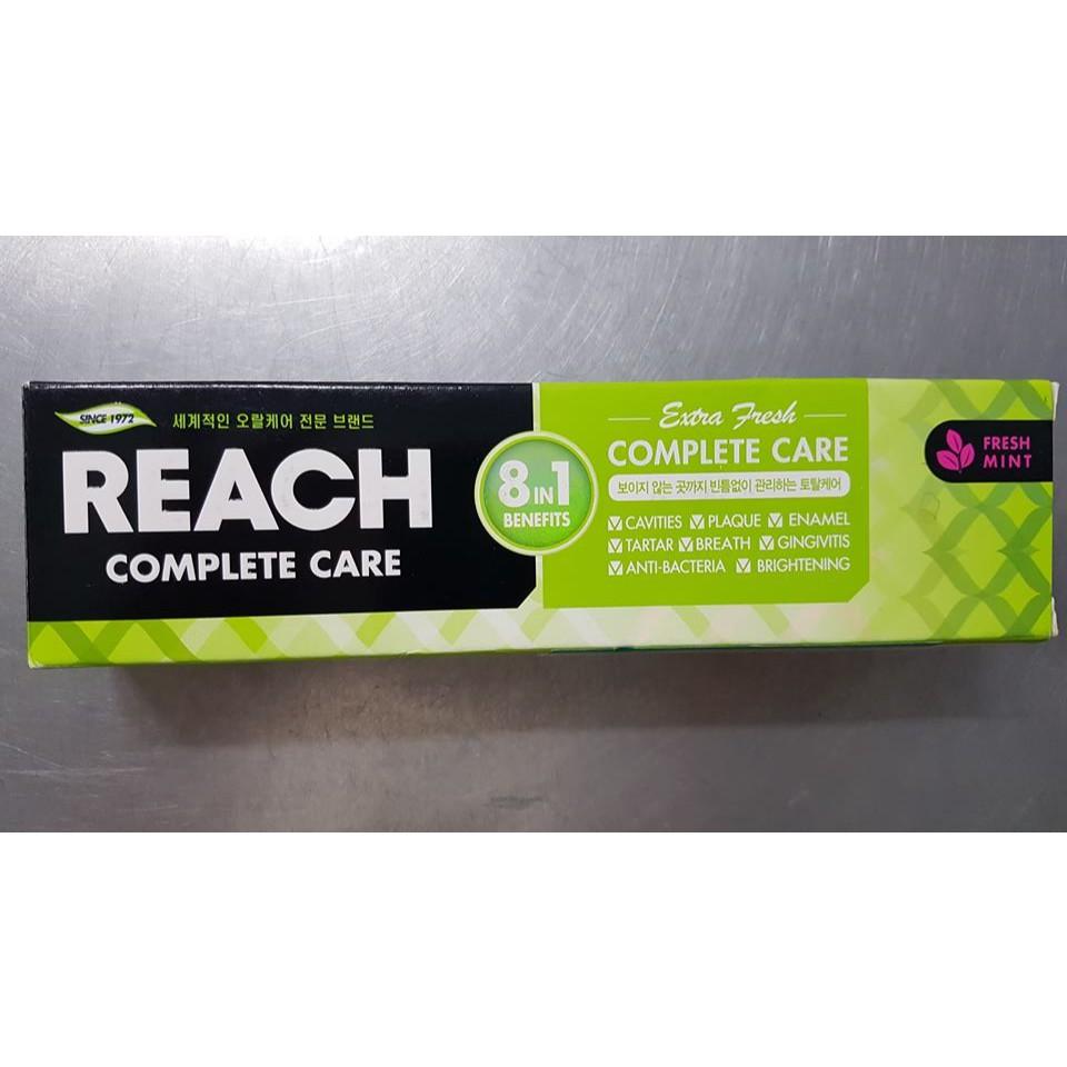 Kem đánh răng Hàn Quốc REACH complete care fresh mint / spear mint 120g