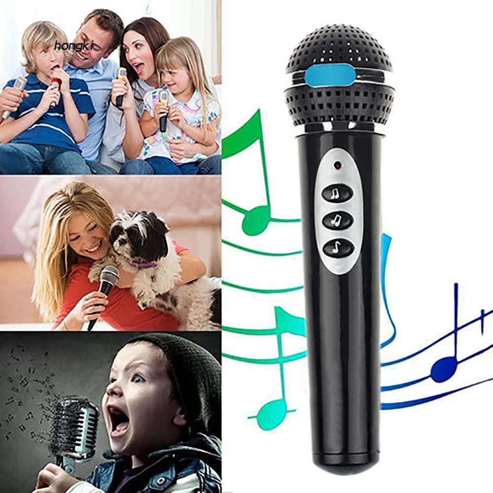 HKM1_Children Girls Boys Microphone Mic Karaoke Singing Kids Funny Music Toy Gift